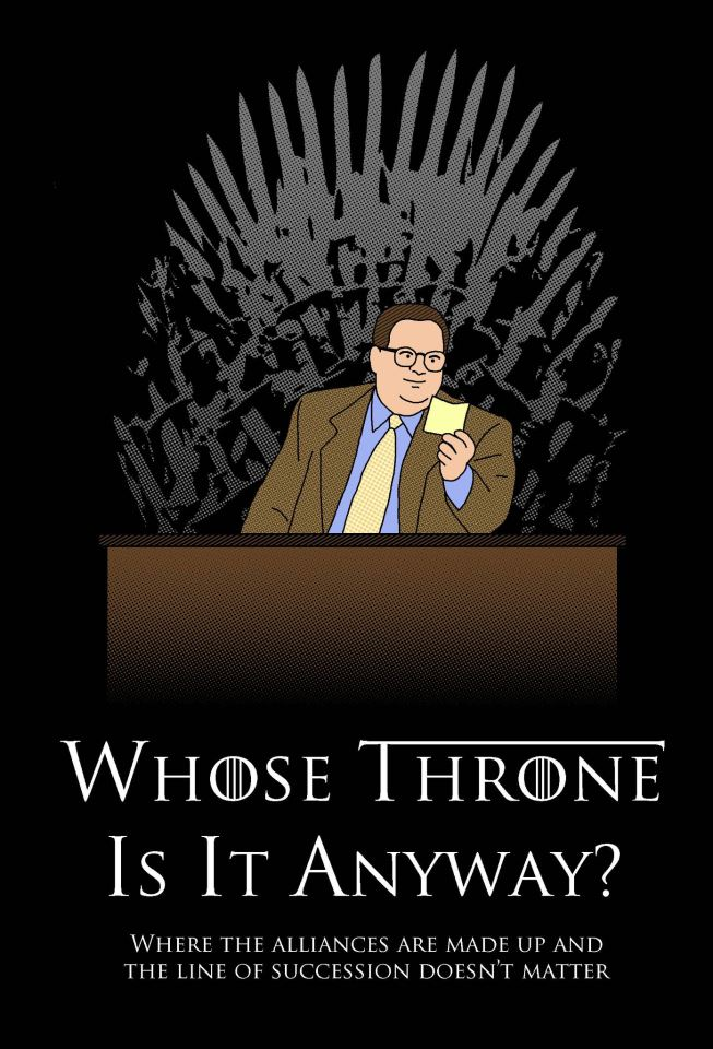 Whose Throne is it Anyway?
