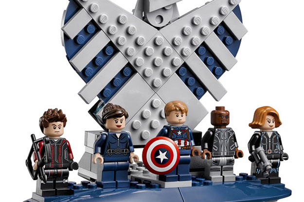 LEGO Helicarrier minifigs