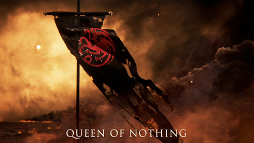 Game of Thrones Season Six Targaryen Banner